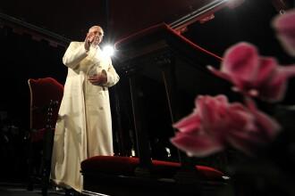 Papa Francisc,in mesajul Urbi et Orbi: Hristos a inviat; fac apel la iubire si pace in intreaga lume