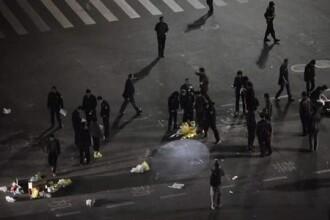Atentat terorist sangeros in China. Cel putin 33 de oameni au murit, iar 130 au fost raniti