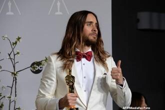 Oscarul lui Jared Leto nu mai arata asa. Ce a marturisit actorul ca a facut cu celebra statueta