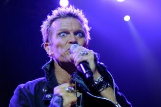 Billy Idol in Romania. Rockerul va sustine concerte la Bucuresti, pe 29 iunie, si la Cluj, pe 30 iunie