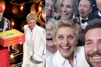 Un Oscar definit de selfie si photobomb. Cele mai penibile, dar si cele mai frumoase momente ale galei