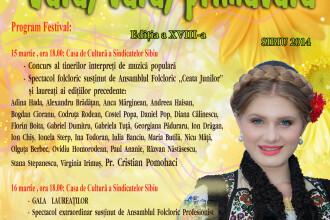 Competitie muzicala pentru tinerii interpreti de muzica populara la Sibiu