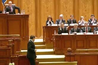 Guvernul Ponta 3 a fost votat de Parlament. Reactia premierului dupa ce Crin Antonescu si-a dat demisia