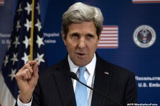 Secretarul de stat american John Kerry: SUA vor fi nevoite sa negocieze cu presedintele sirian al-Assad pana la urma