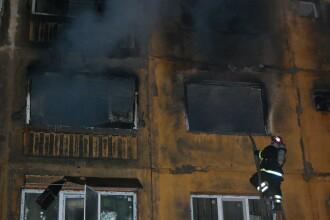 12 persoane ranite in explozia din Medgidia. Un barbat si fetita lui de 8 ani, in stare critica