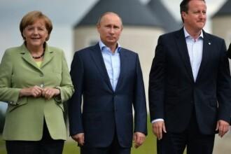 De ce tace Europa. Cu ce-i are la mana Putin pe Merkel si Cameron si de ce Germania si Marea Britanie s-ar prabusi fara Rusia