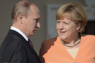Criza in Ucraina. Merkel vorbeste de o anexare a Crimeei de catre Rusia, in timp ce Ianukovici isi anunta revenirea la Kiev