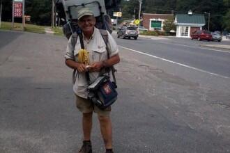 Un barbat din SUA a mers 34.000 de kilometri pe jos cu un scop nobil.