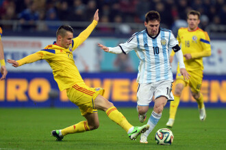 ROMANIA - ARGENTINA. Messi a facut copiii sa planga. Ce s-a intamplat imediat dupa finalul meciului