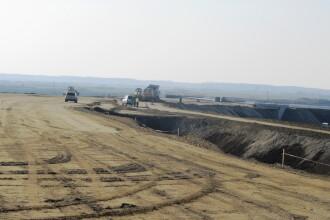 Lucrarile la autostrada Arad - Nadlac au fost reluate. Noii constructori promit sa o termine in zece luni