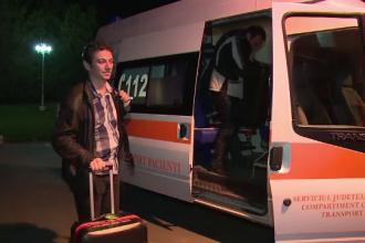 Destin de salvator. Dr. Radu Zamfir a zburat prima data dupa accidentul din Apuseni pentru o prelevare de organe, la Oradea