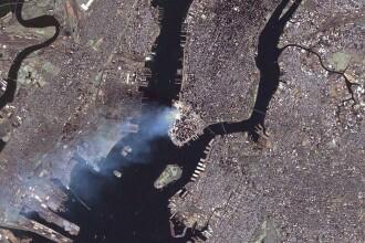 Imagini nemaivazute cu atacurile de la 11 septembrie, filmate din spatiu, vor fi difuzate in Marea Britanie
