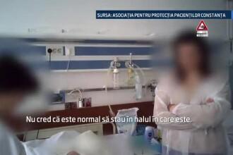 Spitalul Judetean din Constanta, un pericol pentru pacienti. Replica unei asistente: