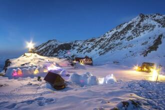 Hotelul de Gheata de la Balea Lac a fost inclus in topul mondial al atractiilor turistice