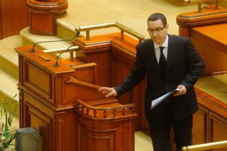 """Ponta a fost aplaudat în Senat: """"Nu mă huiduiți, că o să zic că ați huiduit-o pe Simona Halep"""""""