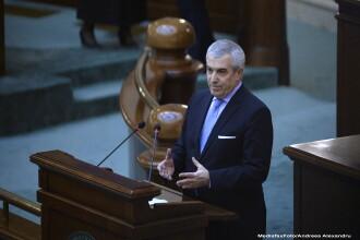 Tariceanu se plange de noul birou, dar inca n-a vazut site-ul. Gafa oficiala care-l face fost membru al PDL