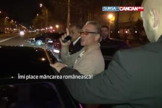In ultima sa zi Romania, Van Damme i-a pus in dificultate pe angajatii unui pub.