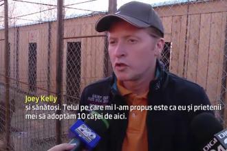 Un fost membru al trupei Kelly Family a venit in Romania pentru a salva maidanezii: