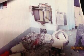 Patru detinuti americani au incercat sa evadeze facand gauri in celule cu ajutorul vaselor de toaleta