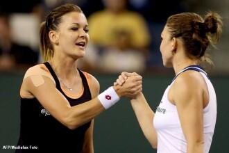 Simona Halep, invinsa de Agineszka Radwanska in semifinale la Indian Wells. De luni, romanca va ocupa locul 5 WTA
