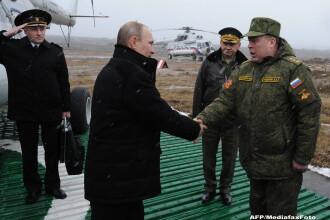 Criza in Ucraina. Vladimir Putin a dat ordin pentru retragerea trupelor rusesti de la granita cu Ucraina