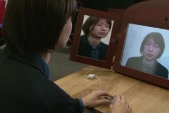 Oglinda care schimba expresia fetei. Inventia spectaculoasa a unui student japonez