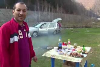 Romanii au profitat de vreme si s-au relaxat la munte. Pe Transfagarsan, turistii s-au bucurat de primul gratar din 2014