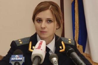Blonda aleasa de Putin drept procuror general in Crimeea. Conferinta ei de presa, in limba rusa, a devenit viral pe Internet
