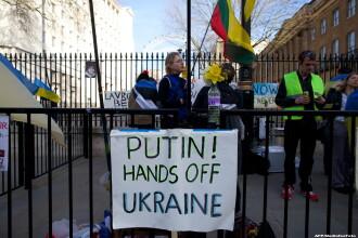 Ingrijorare mare in Euromaidanul din Kiev, dupa ce Crimeea s-a intors la