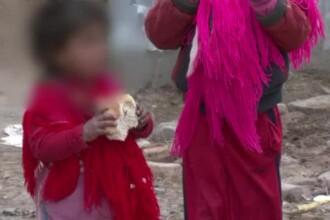 Pretul pentru care o familie de tigani din Vaslui si-a vandut fetita de 8 ani. Fata a fost apoi batuta si scoasa la cersit