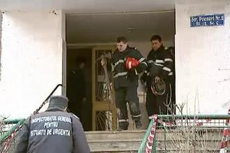 Incendiu devastator intr-un apartament din Capitala, izbucnit cel mai probabil de la o tigara. O femeie si-a pierdut viata