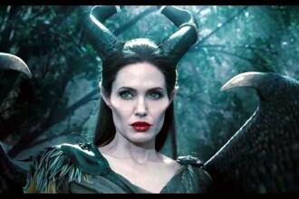 Angelina Jolie si-a speriat copiii cu rolul din Maleficent, cel mai popular personaj negativ creat de Disney