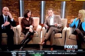 Momentul in care un post TV afiliat Fox a difuzat