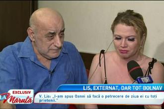 Oana Lis, nefericita in ziua in care a implinit 35 de ani. Starea de sanatate a lui Viorel Lis ramane proasta