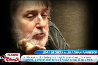 Secretul familiei Paunescu. Fiul lui Adrian Paunescu a vorbit, La Maruta, despre drama surorii vitrege a poetului
