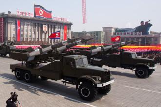 Peste 30 de rachete au fost lansate din Coreea de Nord vineri. Demonstratie de forta cu