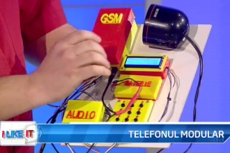 iLikeIT. Telefonul construit acasa. Viorel Spanu si-a prezentat dispozitivul construit cu piese din magazine