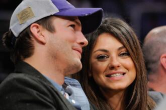 La o luna dupa logodna, Mila Kunis si Ashton Kutcher anunta ca vor fi parinti