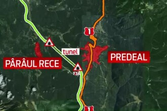 Traseul autostrazii Comarnic-Brasov. Autoritatile n-au inceput exproprierile si nici n-au bani pentru finantarea proiectului