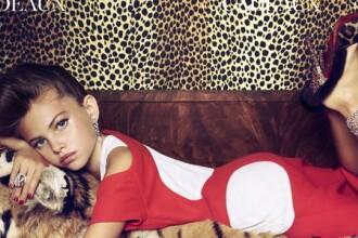Thylane Blondeau, fetita care la 10 ani aparea pe coperta Vogue, e in centrul unei alte controverse. Cum a pozat