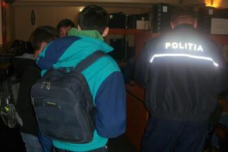 Au confundat sala de clasa cu barul. Cati elevi chiulangii au prins politistii intr-o singura zi