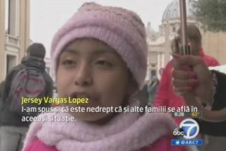 Papa Francisc si Barack Oama au indeplinit dorinta unei fetite din SUA. Ce au facut cei doi pentru familia ei