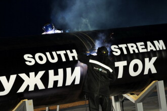 Lucrarile la South Stream incep in noiembrie, in Marea Neagra, chiar daca Bulgaria a decis sistarea constructiei