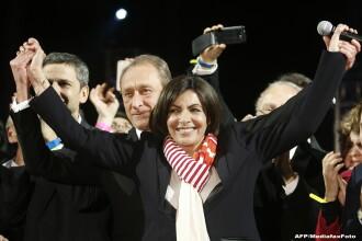 Pentru prima data, primaria Parisului va fi condusa de o femeie. Extrema dreapta castiga teren in Franta, dupa alegeri