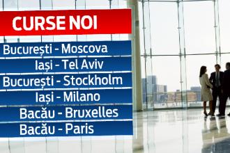 Noile curse TAROM, intr-un an cu recorduri pentru aeroportul Henri Coanda. Peste 8 milioane de romani vor zbura in vacanta