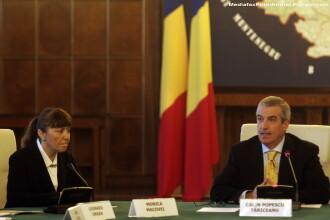 Monica Macovei acuza: Tariceanu mi-a cerut in Guvern sa il informez in cazul anchetelor care privesc un ministru