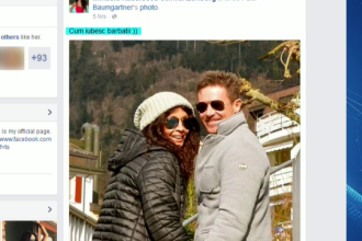 Felix Baumgartner respinge acuzatiile de infidelitate si spune ce simte pentru Mihaela Radulescu.