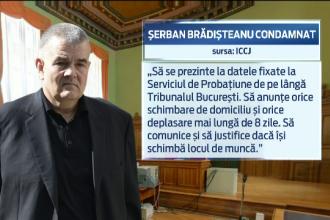 Medicul Serban Bradisteanu, condamnat definitiv la un an cu suspendare in dosarul favorizarii lui Adrian Nastase