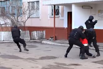 Cum arata o interventie in forta a mascatilor din Moldova. VIDEO. Totul a durat mai putin de un minut