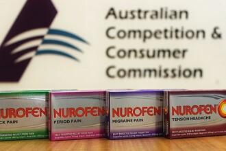 Producatorul Nurofen, dat in judecata in Australia. Ce au descoperit in tablete pentru dureri de spate sau migrene